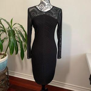CK Sheath black dress
